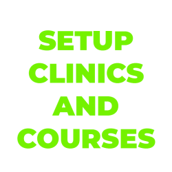 Setup Clinics and Courses